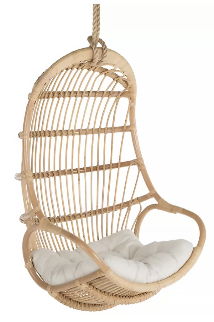 Hanging Rattan Swing Chair - WAYFAIR