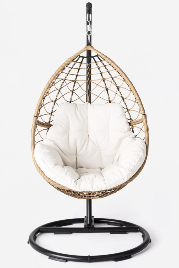 Britanna Patio Hanging Egg Chair - TARGET