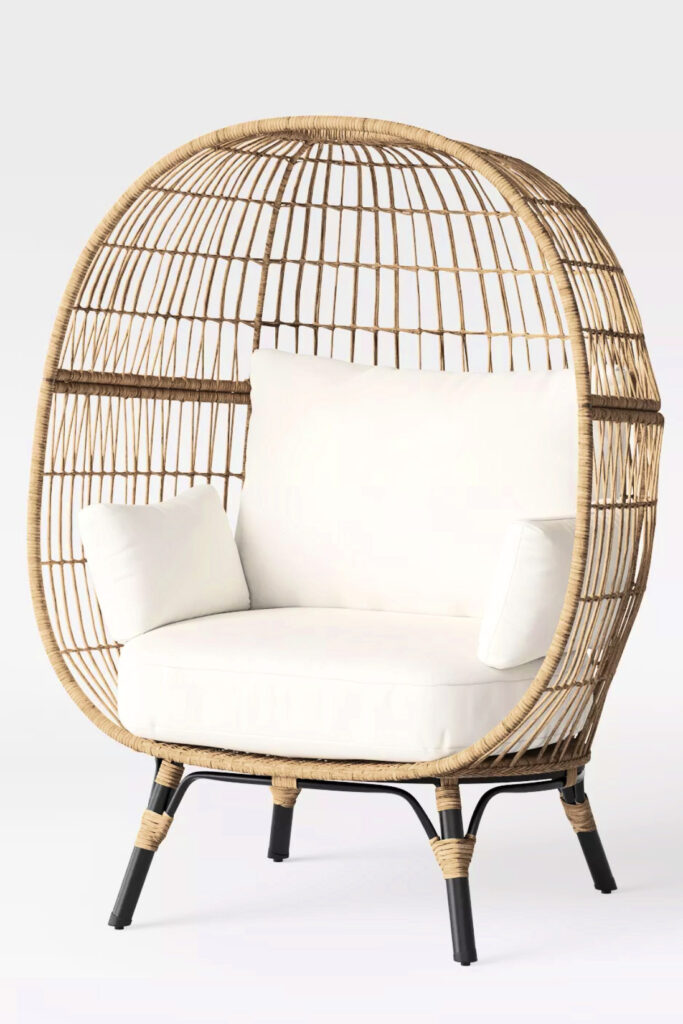 Southport Patio Egg Chair – Linen - TARGET