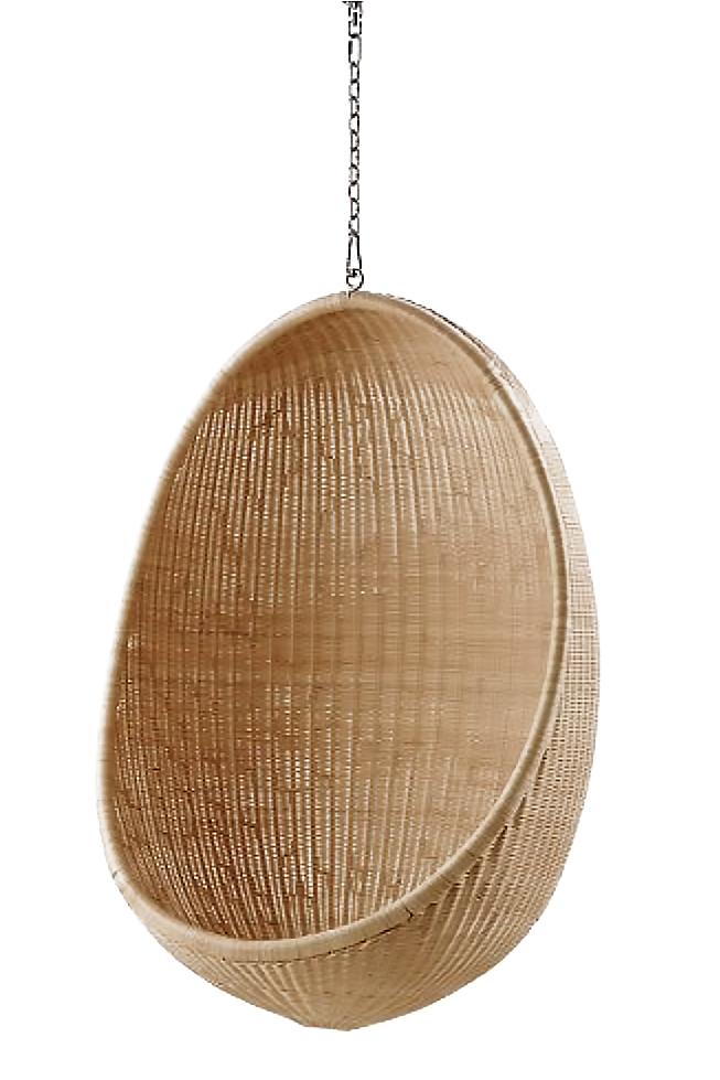 Hanging Egg Chair – Natural - ONE KINGS LANE