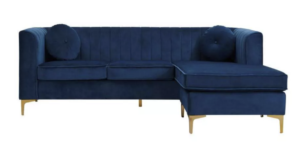 Britannia Modular Sectional Sofa in Navy via Target
