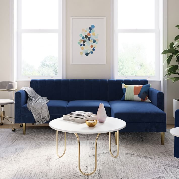 Olive 2-Piece Chaise Sectional via West Elm