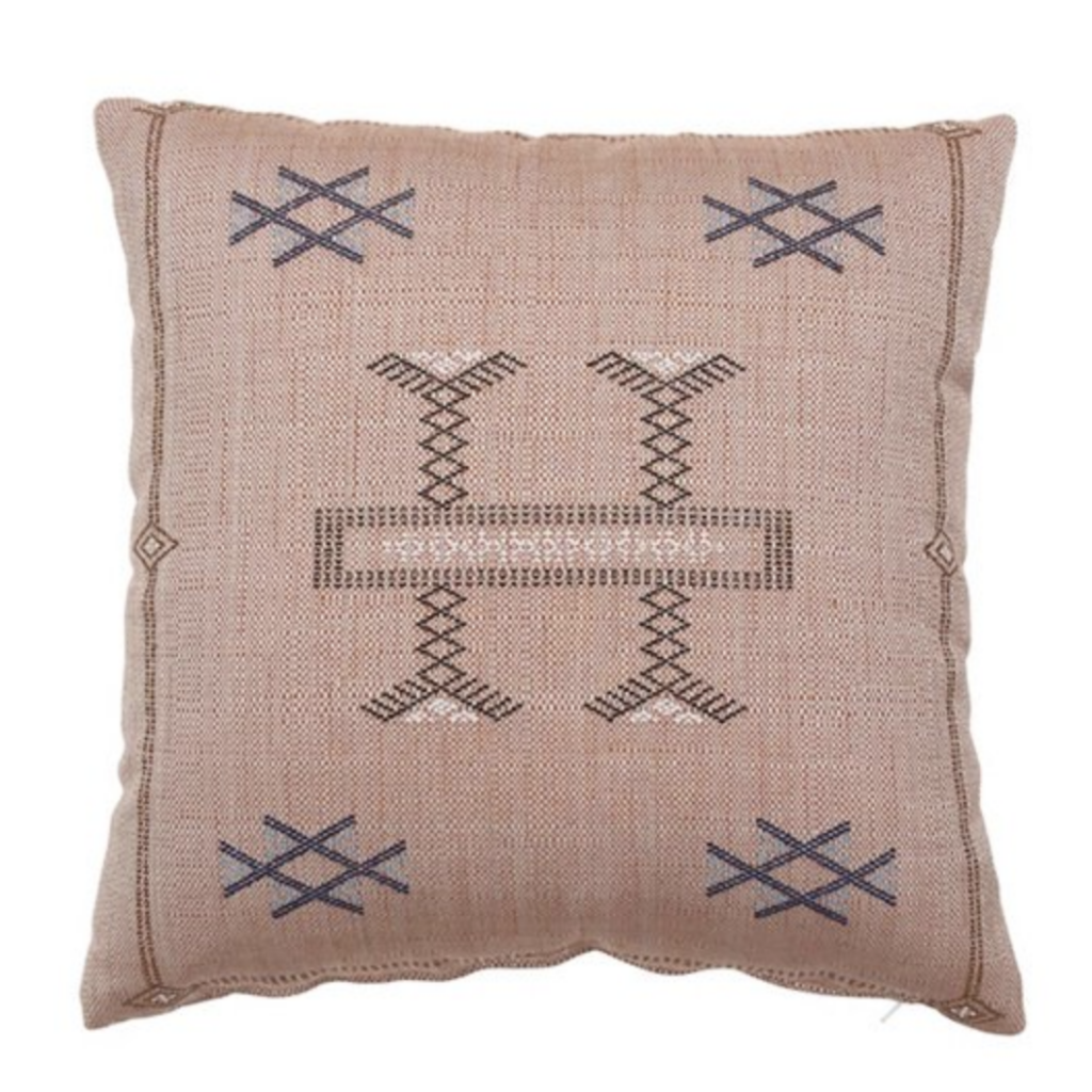 Dusty Pink Tribal Pillow via One Kings Lane.