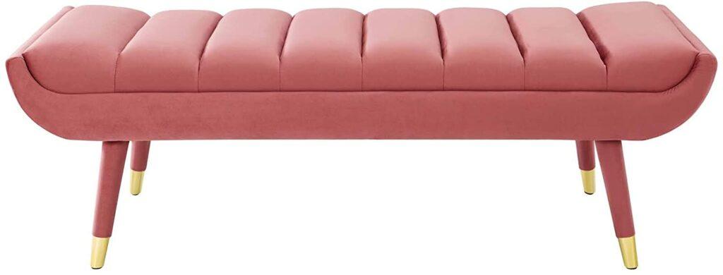 Pink Bench Seat via Amazon.