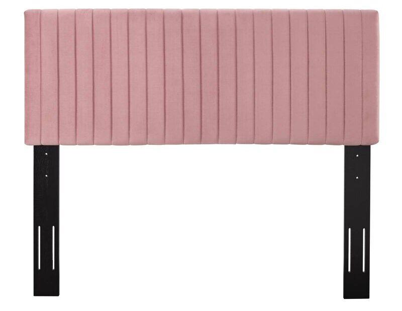 Pink Panel Headboard via Wayfair.