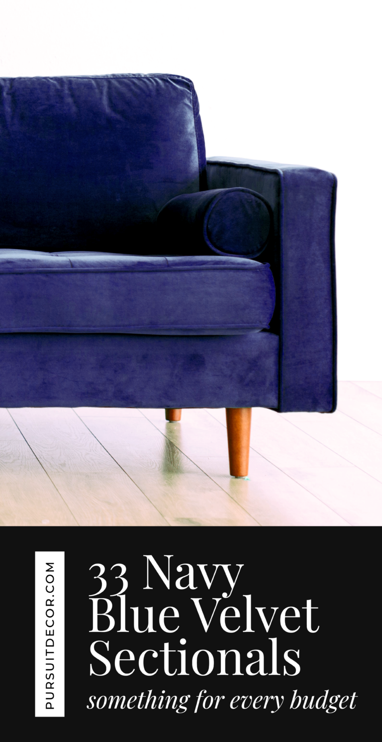 33 Navy Blue Velvet Sectional Sofas You'll Love - something to suit every budget, blue velvet couch, velvet sectionals.
