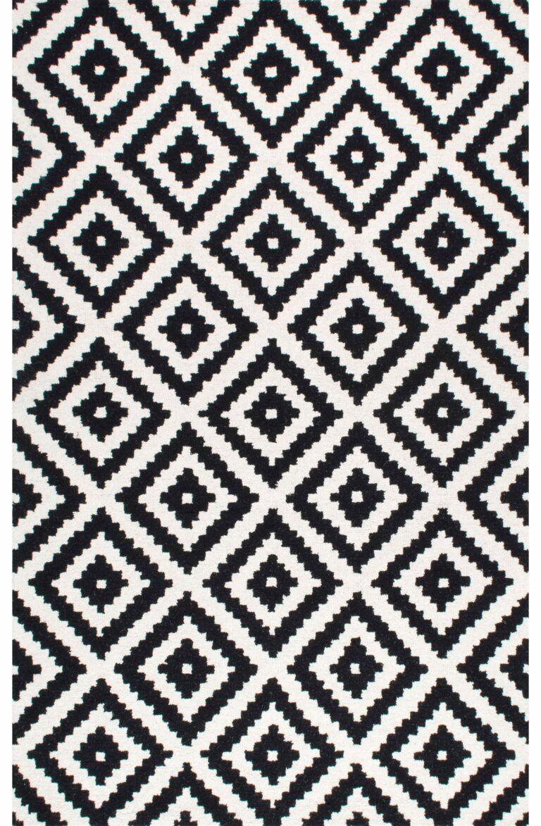 Somerset Geometric Tufted Wool Rug via All Modern