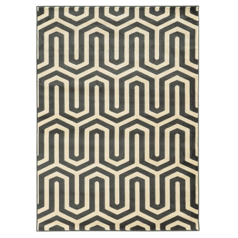 Hennings Ivory/Grey Area Rug via Wayfair