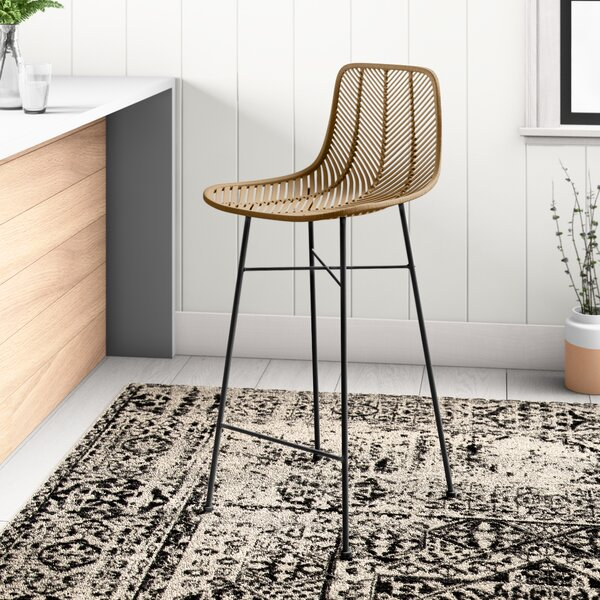 Image via All Modern feat. Cecelia 28″ Bar Stool in Natural