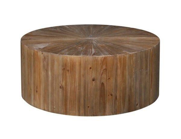 Passo Drum Coffee Table via Wayfair