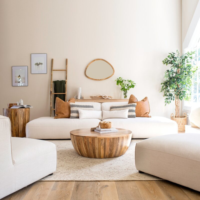 Dereham Coffee Table in Natural via AllModern