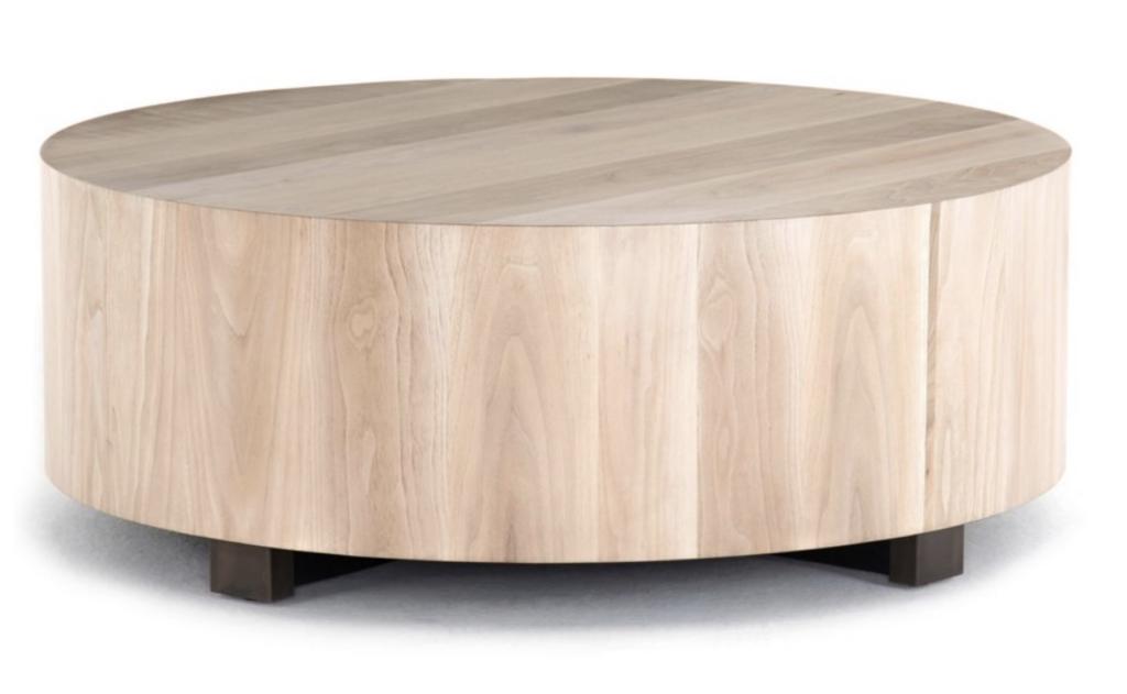 Jasper Coffee Table – Ashen Walnut via One Kings Lane
