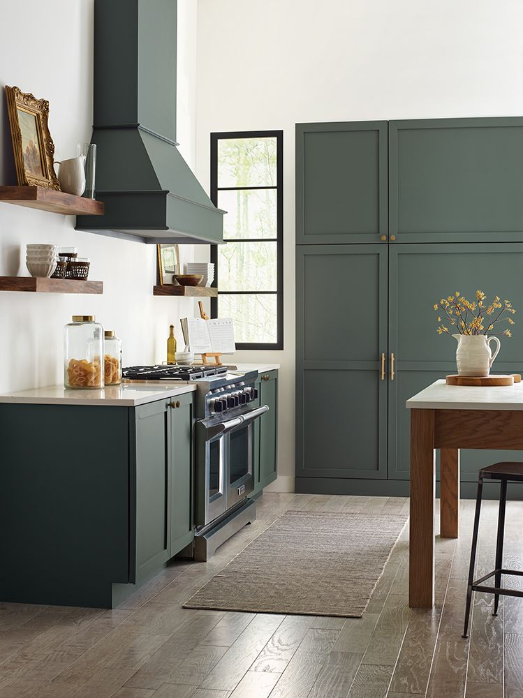 Image via Sherwin Williams, Paint color: Succulent by Sherwin Williams