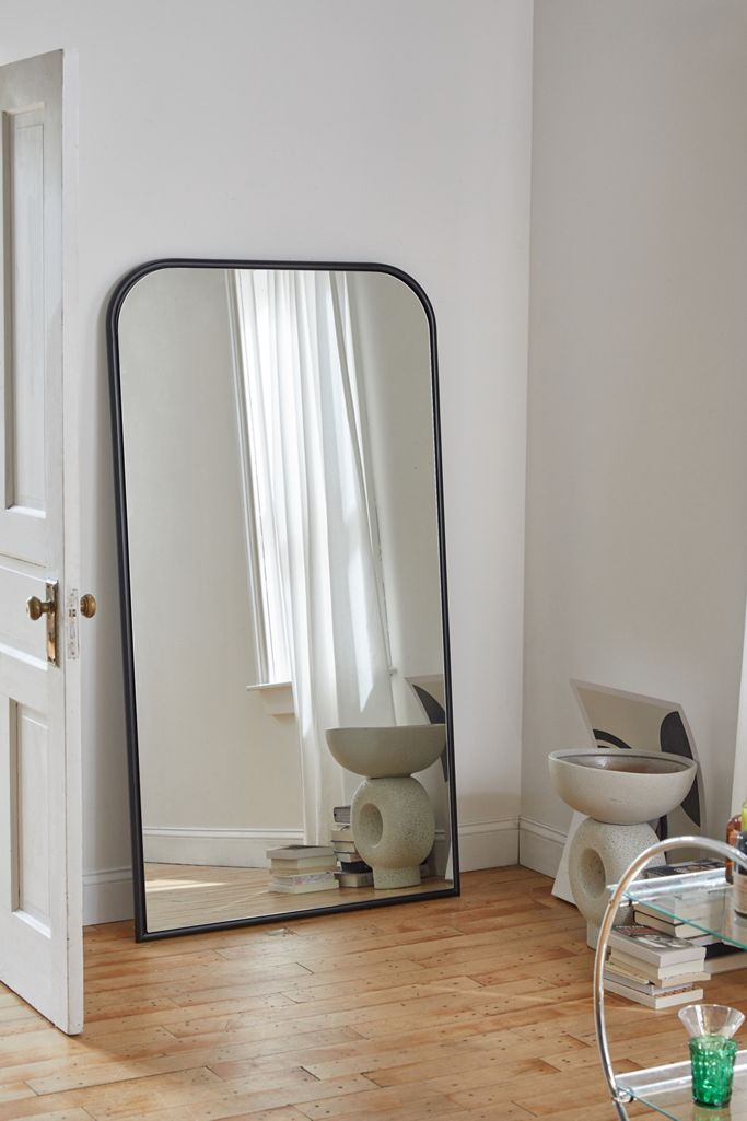 image via Urban Outfitters, feat. 'Selene Floor Mirror'