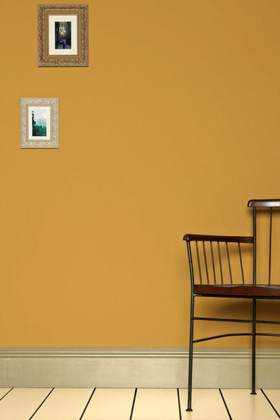COLOR: 'Sudbury Yellow No. 51′ from Farrow & Ball, IMAGE: via Farrow & Ball