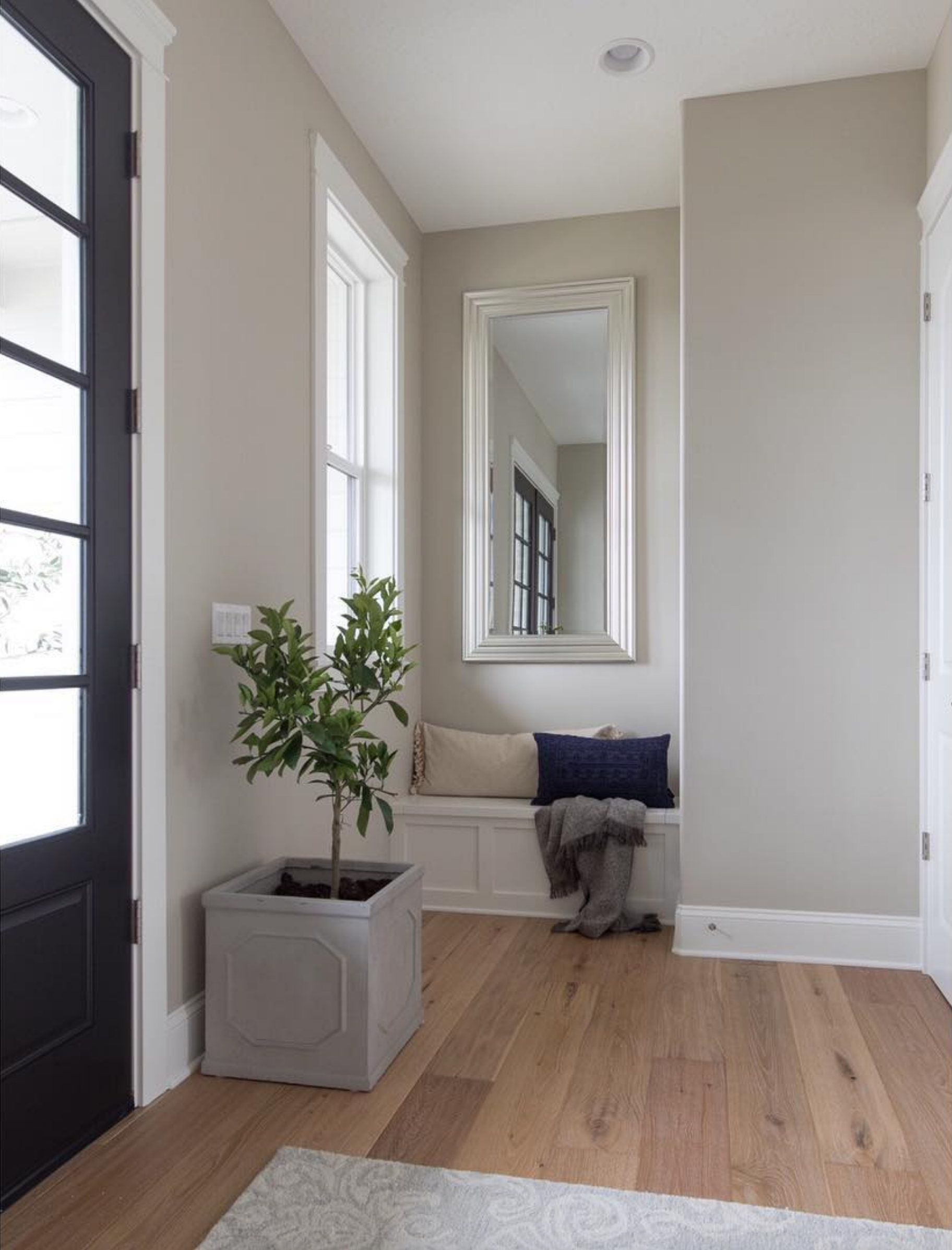 20+ Beautiful Light Greige Paint Colors feat. 'Revere Pewter' from Benjamin Moore, IMAGE CREDIT: @fridleyhomes on Instagram