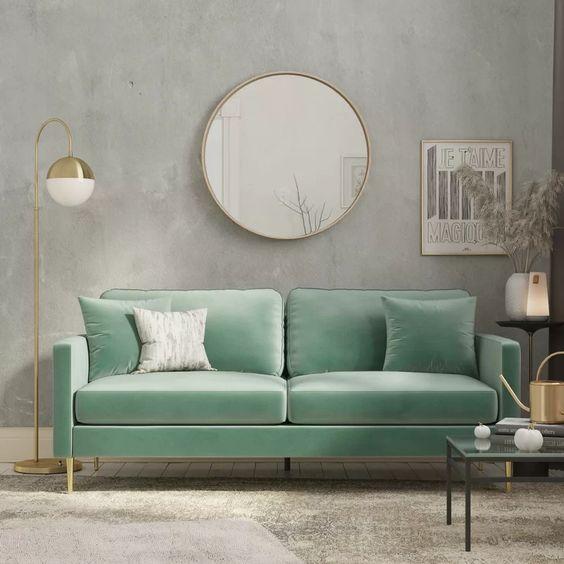 IMAGE via Wayfair, feat. CosmoLiving by Cosmopolitan 'Highland' Sofa