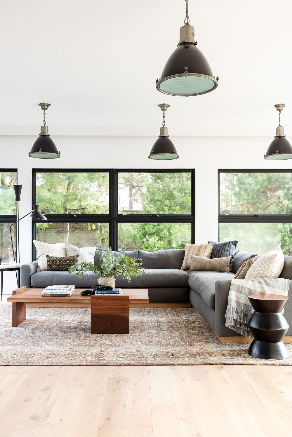 Best Warm White Paint Colors - Sherwin Williams - ABOVE IMAGE: via Studio McGee feat. paint color 'White Flour' from Sherwin Williams
