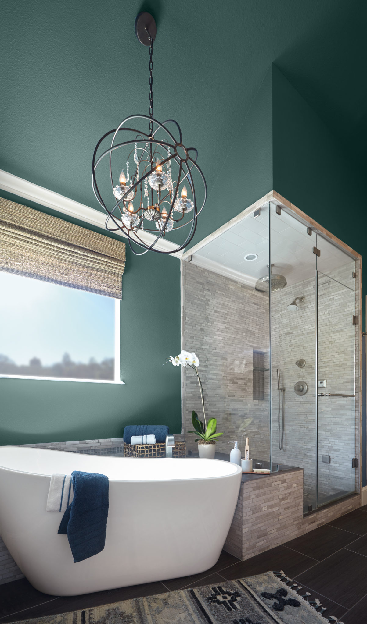 IMAGE: via Behr feat. paint color 'Dragonfly' from Behr