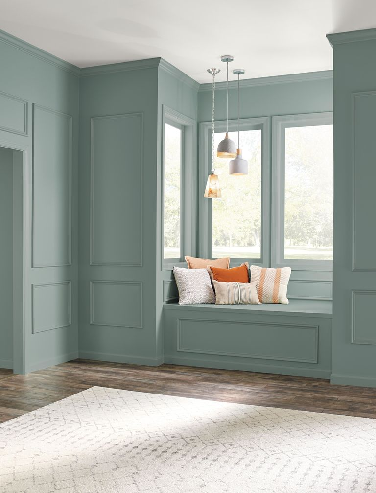 IMAGE: via Behr feat. paint color 'In The Moment' from Behr