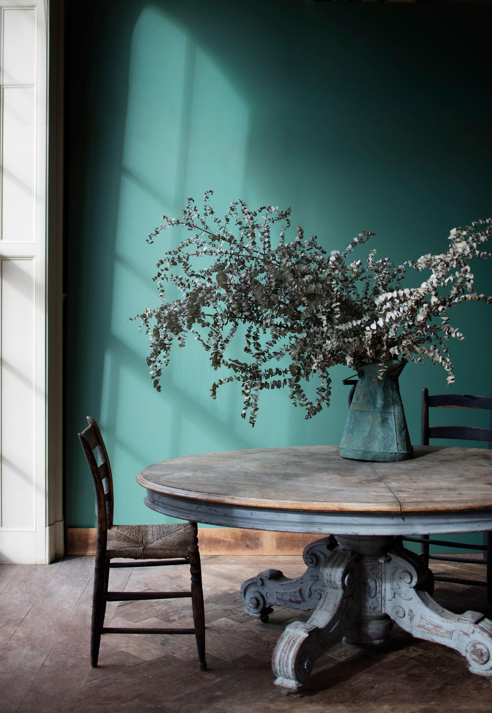 IMAGE: via Benjamin Moore feat. paint color 'Veronese Green' from Benjamin Moore