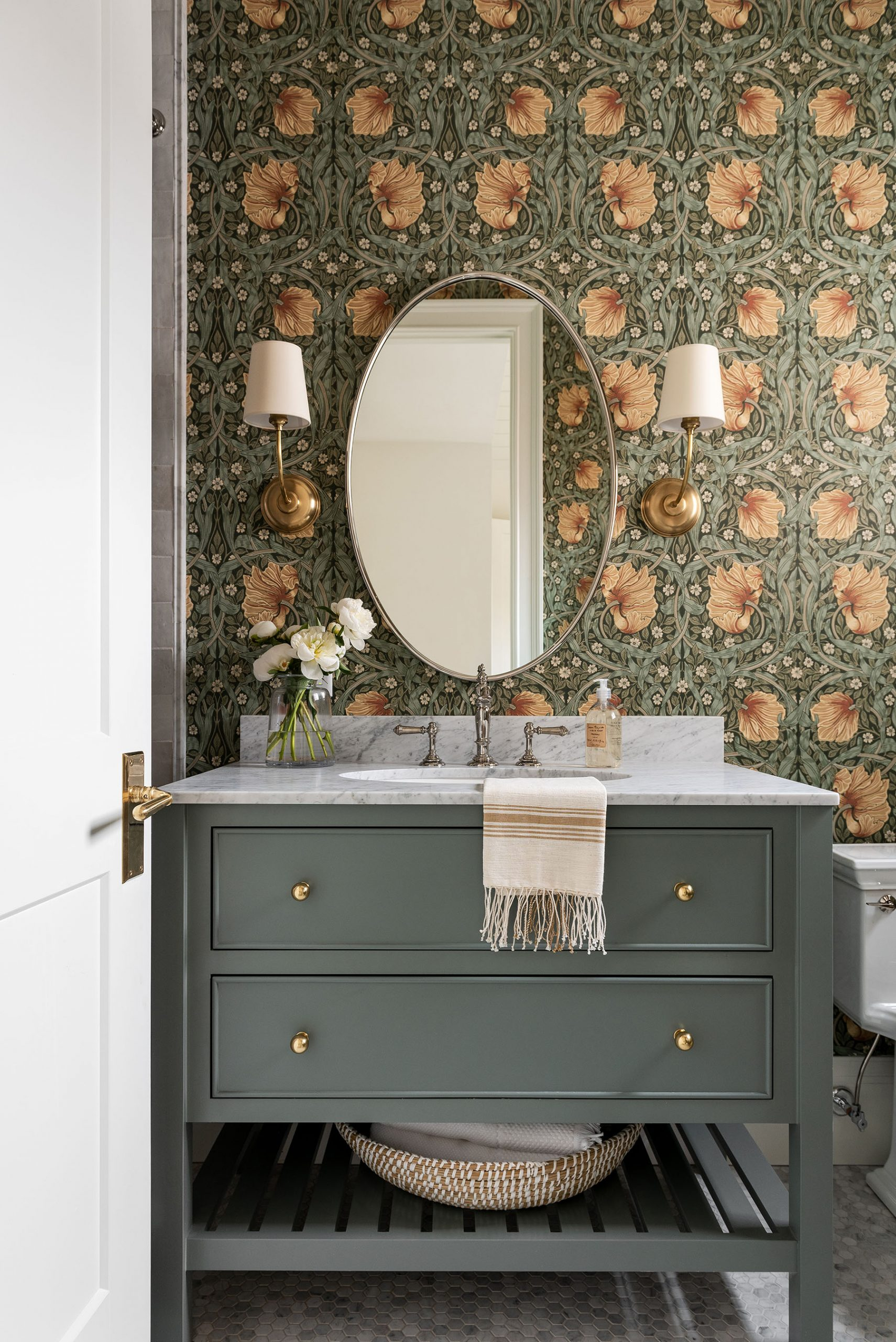 IMAGE: via Studio McGee feat. paint color 'Intrigue' from Benjamin Moore