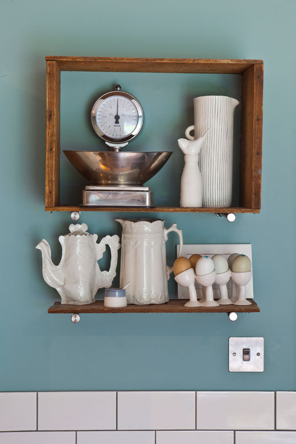 IMAGE: via Farrow and Ball feat. paint color 'Dix Blue' from Farrow and Ball