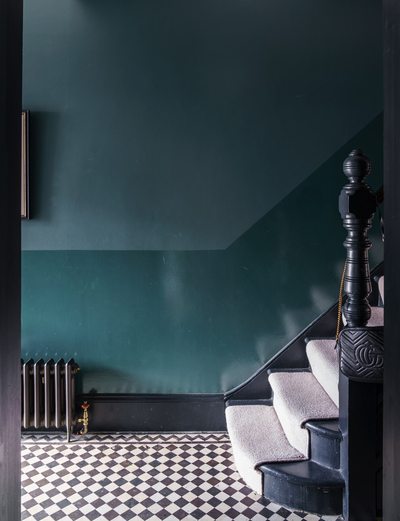 IMAGE: via Farrow and Ball feat. paint color 'Inchyra Blue' from Farrow and Ball