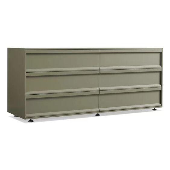 Dresser in Gray Green via Wayfair