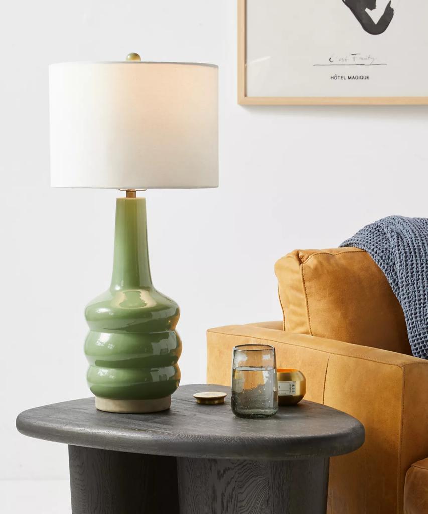 Sage Table Lamp via Anthropologie