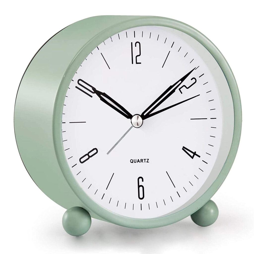 Sage Green Alarm Clock via Amazon