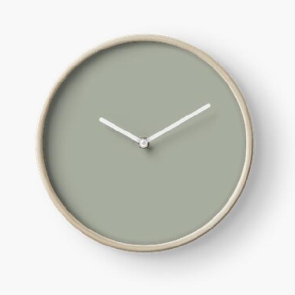 Desert Sage Clock via Society6