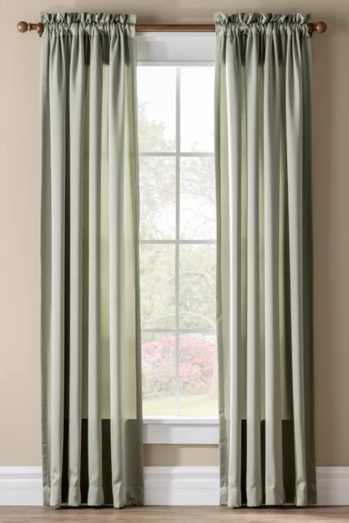 ROUND-UP: Sage Green Bedroom Accessories and Décor - ft. Sage Green Curtain Panel via Wayfair