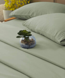 ROUND-UP: Sage Green Bedroom Accessories and Décor - ft. Sage Sheet Set via Amazon