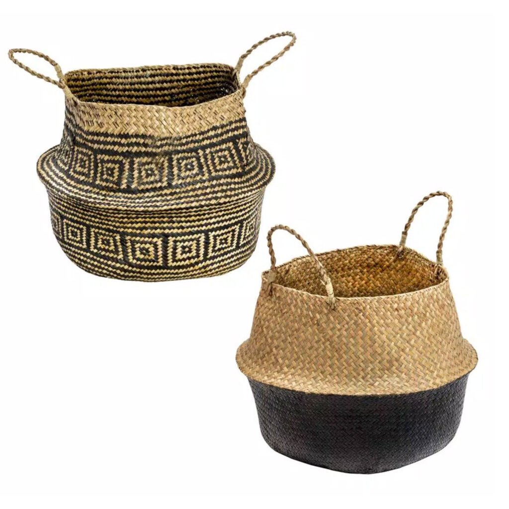 Set 2 Belly Baskets via Home Depot