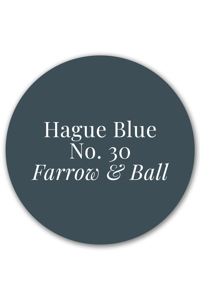 Hague Blue No. 30 by Farrow & Ball