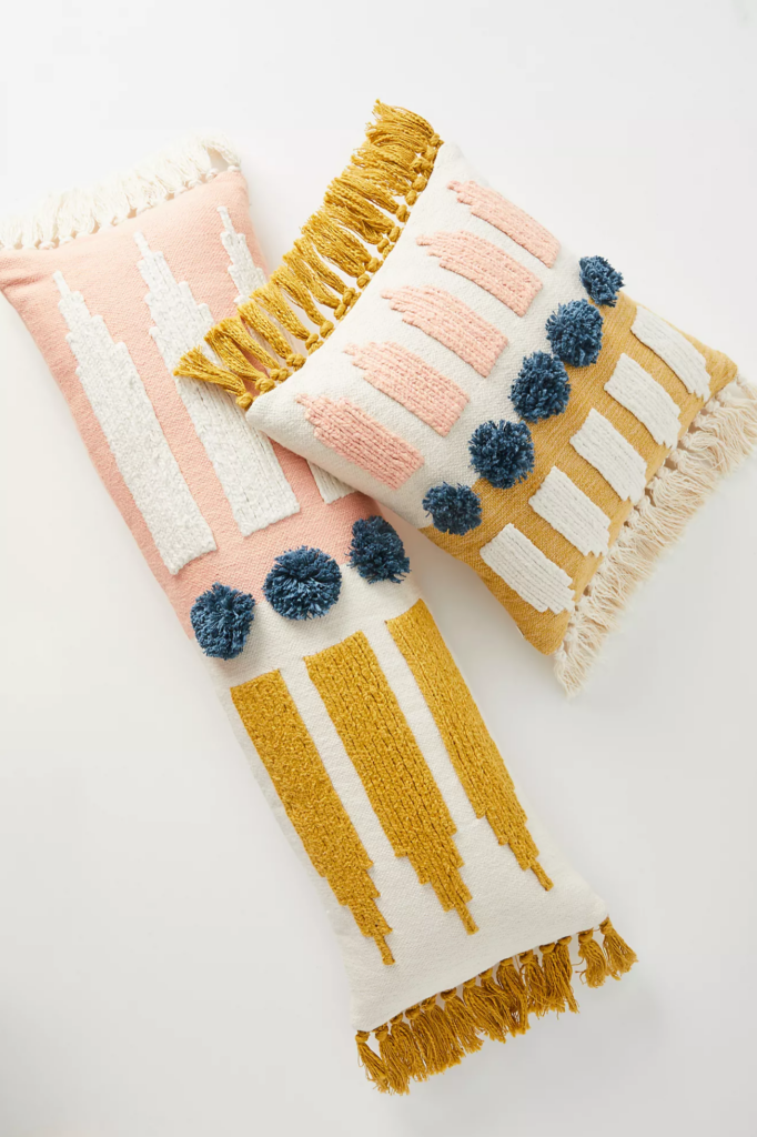 Tassle Throw Pillows via UO