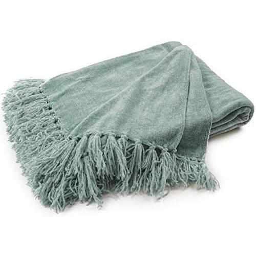 Chenille Throw Blanket via Amazon