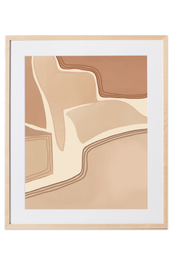 Elan Byrd Print - Desert Path via West Elm