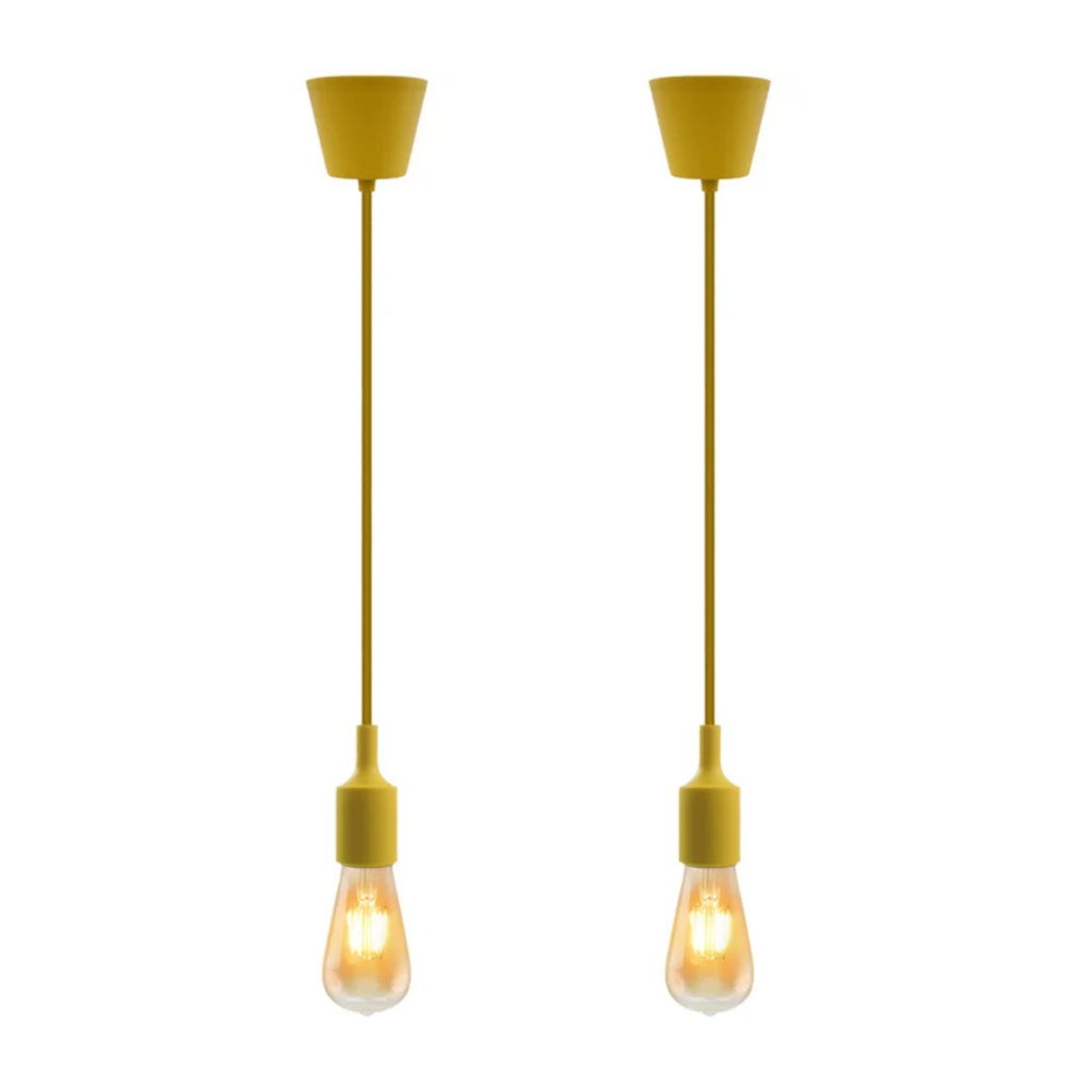 Yellow Pendants via Wayfair