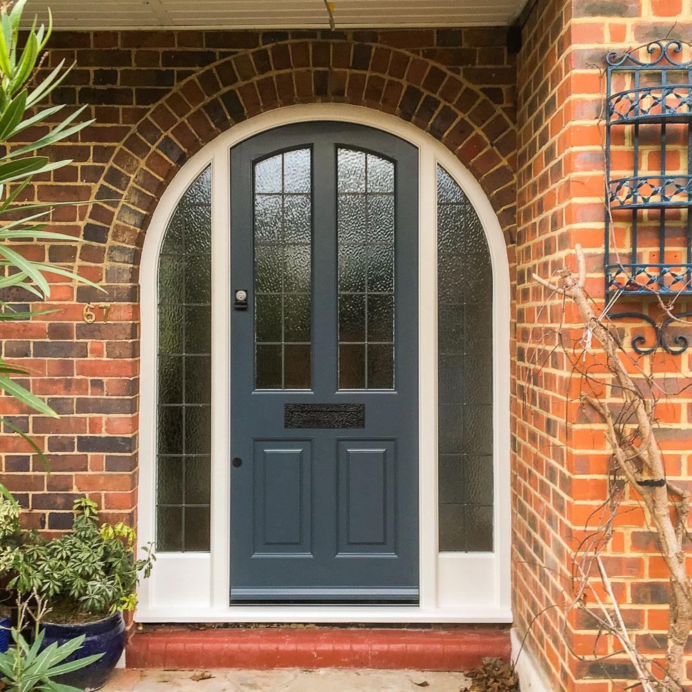 Image via Cottwoods Door Specialists Limited, blue door