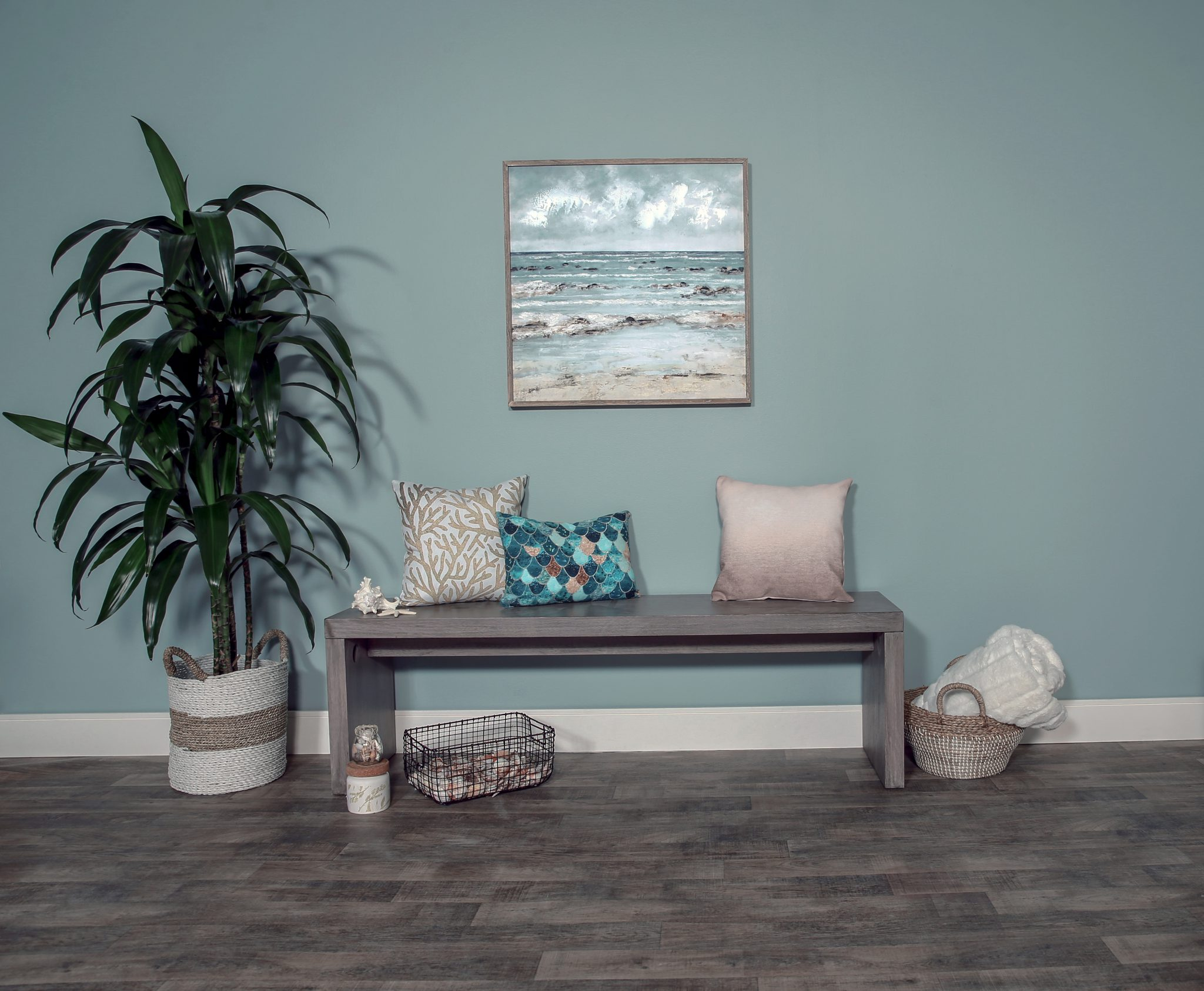 Best of Behr: Blue Gray Paint Colors - Image via Behr, feat. wall paint color: 'Watery' by Behr