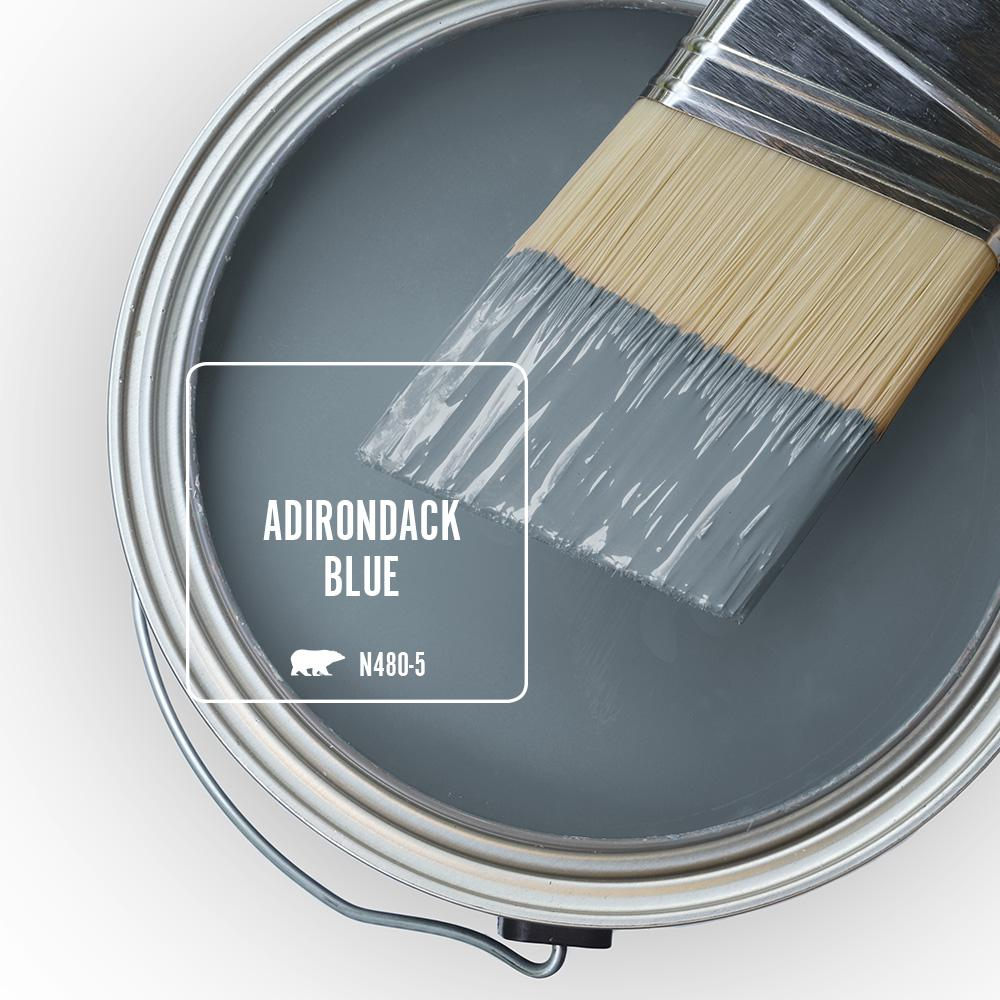 'Adirondack Blue' Image via Home Depot/Behr