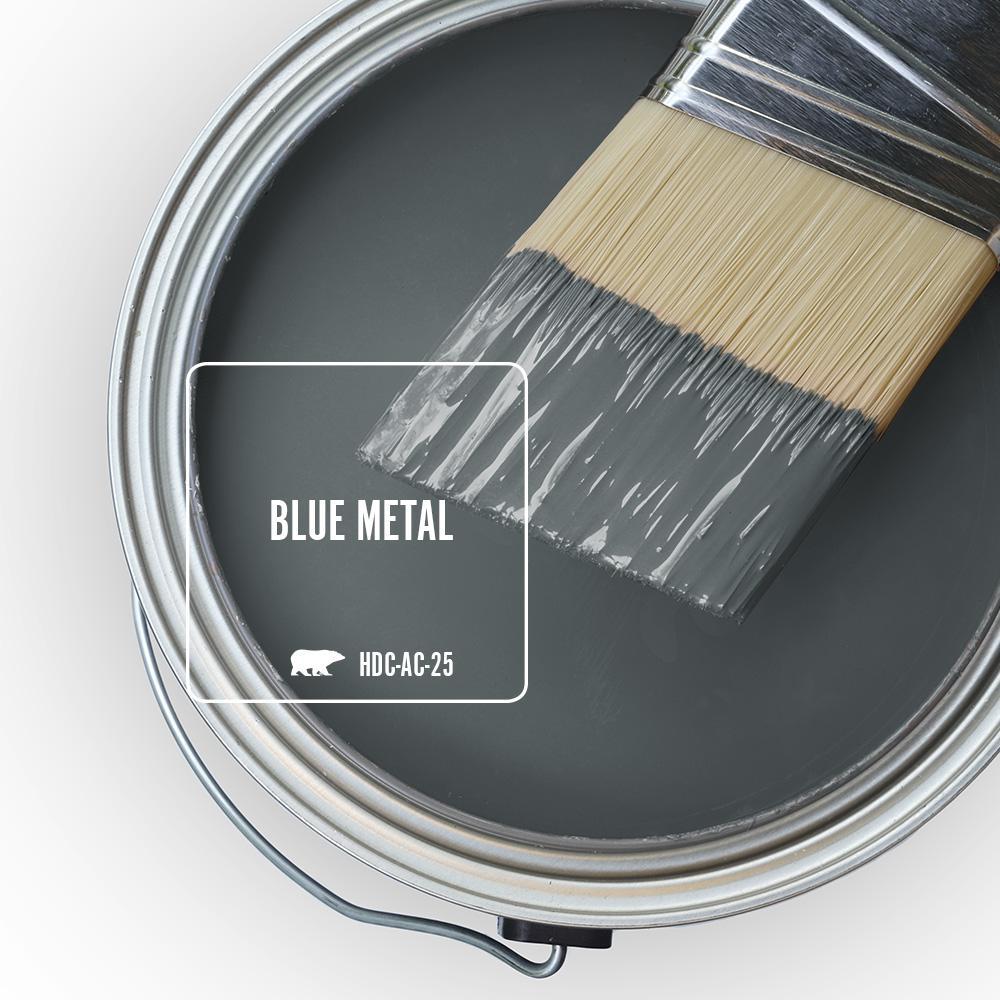 'Blue Metal' Image via Home Depot/Behr