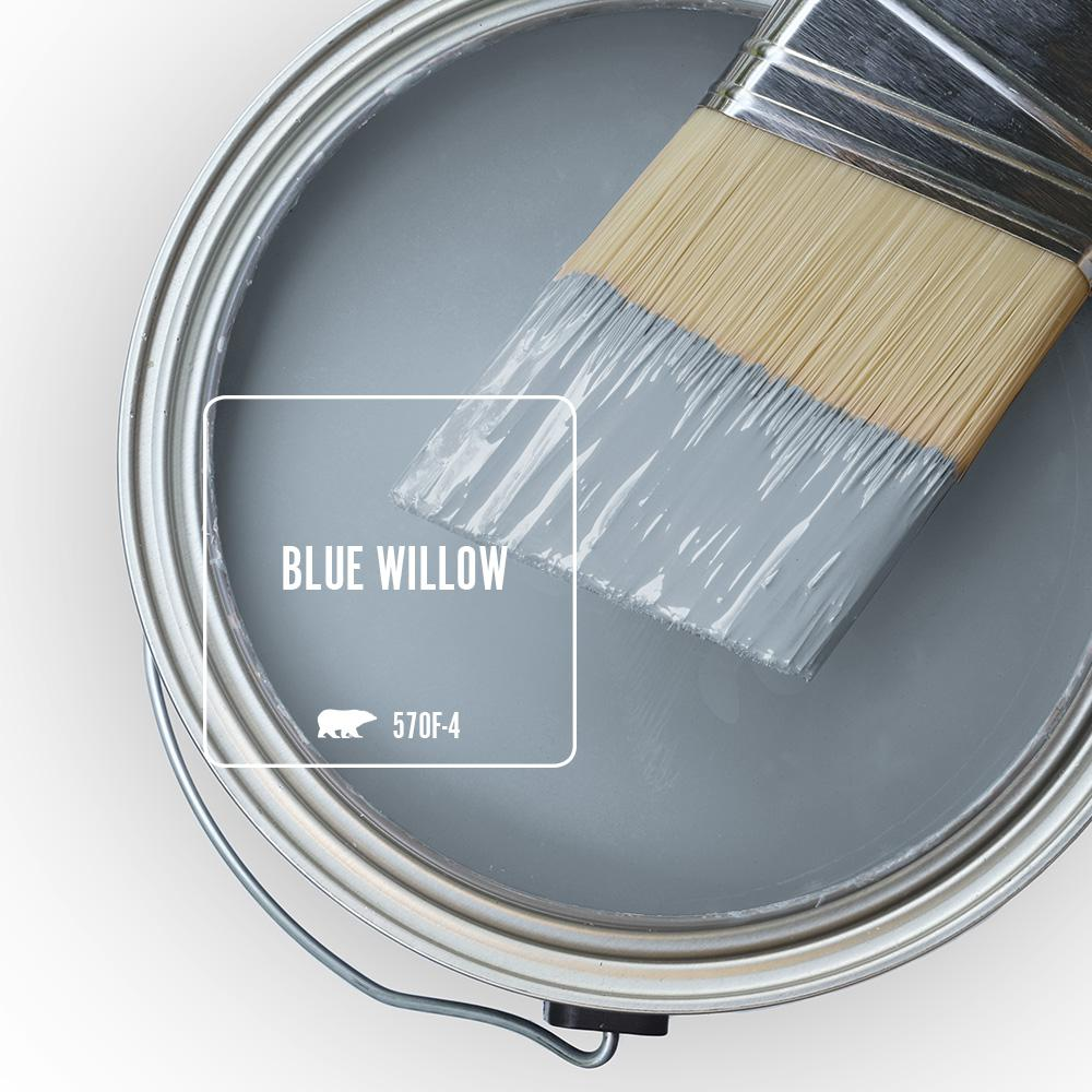 'Blue Willow' Image via Home Depot/Behr