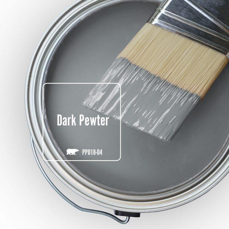 'Dark Pewter' Image via Home Depot/Behr