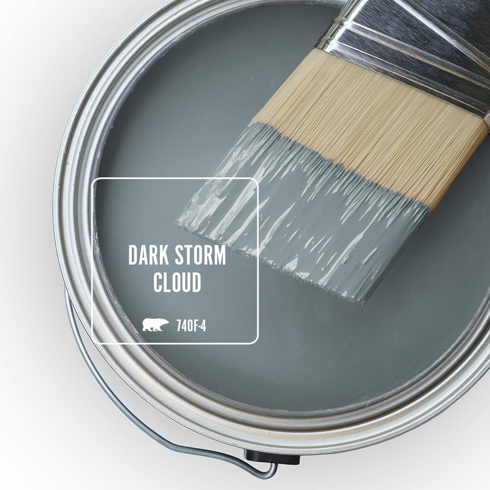'Dark Storm Cloud' Image via Home Depot/Behr
