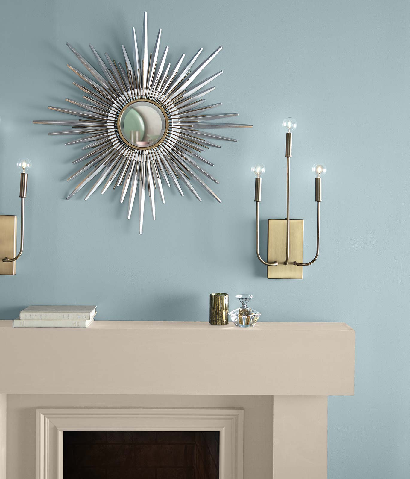 Image via Behr, feat. wall paint color: 'Dayflower' by Behr