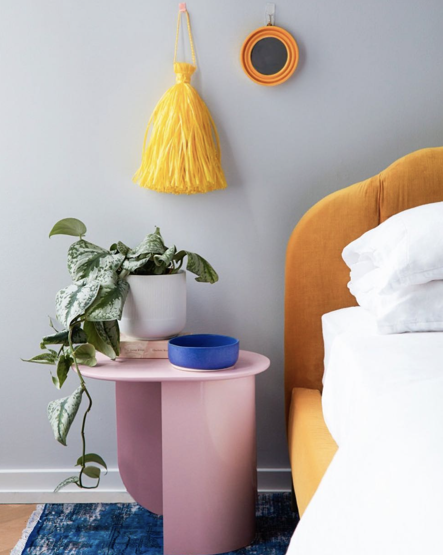 Best of Behr: Blue Gray Paint Colors - Image via @behrpaint, photo by @jessicaantola feat. wall paint color: 'Hush' by Behr