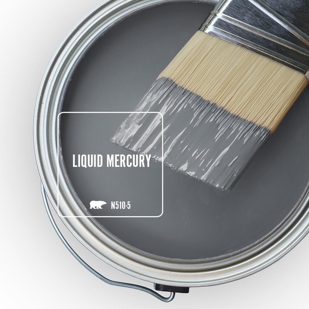 'Liquid Mercury' Image via Home Depot/Behr